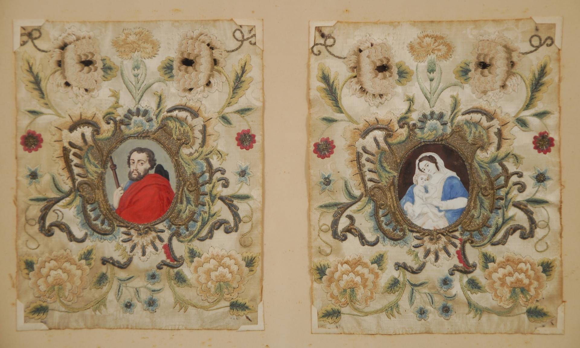 Saint Jacques de Compostelle - Vierge à l´enfant